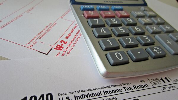 Some tax forms - Sputnik International