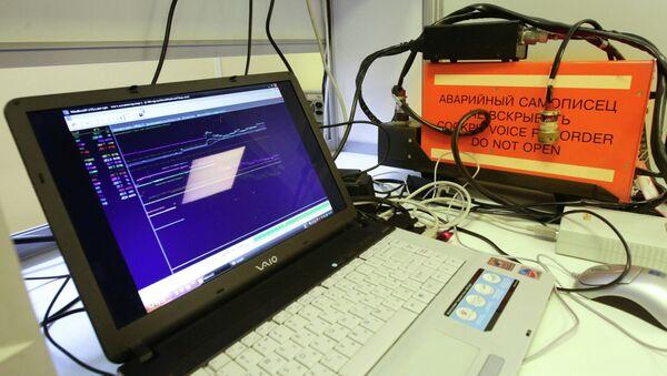 Interstate Aviation Committee specialists reveal details of Kaczynski plane cockpit voice recorders deciphering process - Sputnik International