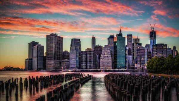 Manhattan Skyline Sunset - Sputnik International