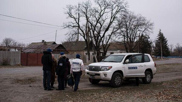 OSCE Special Monitoring Mission in Ukraine - Sputnik International