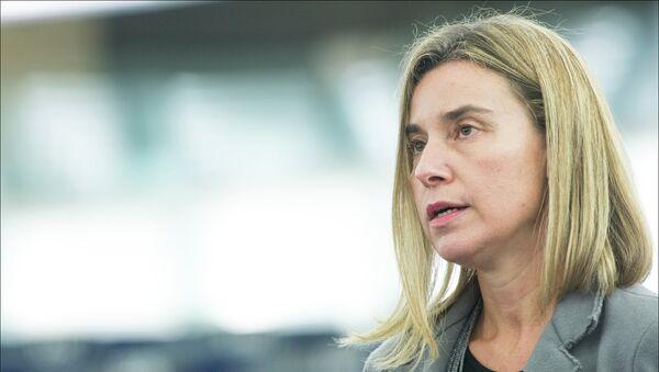 EU Foreign Affairs chief Federica Mogherini. - Sputnik International