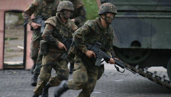 German Bundeswehr soldiers - Sputnik International