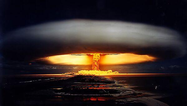 Licorne nuclear test – French Polynesia, 1970 - Sputnik International