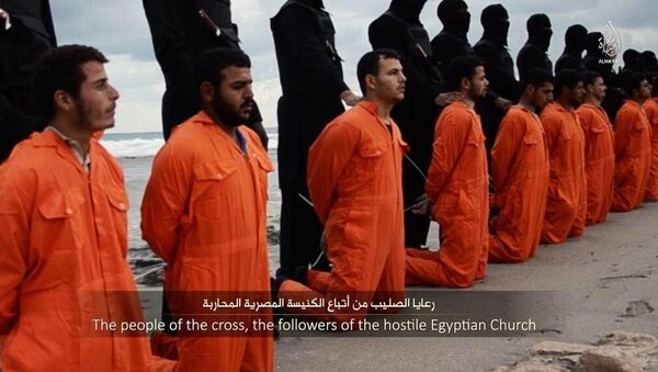ISIS releases video claiming execution of 21 Egyptian Copts - Sputnik International