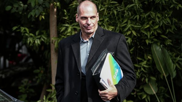 Greece's Finance Minister Yanis Varoufakis - Sputnik International
