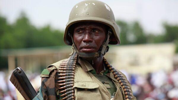 Nigerian soldier - Sputnik International