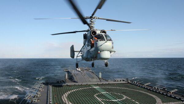 Ka-27PL antisubmarine helicopter - Sputnik International