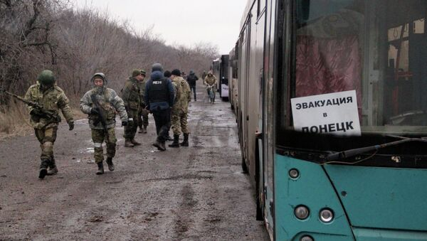 Debaltsevo and Uglegorsk update - Sputnik International