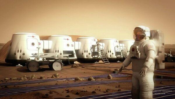 Mars One - Human Settlement of Mars - Sputnik International
