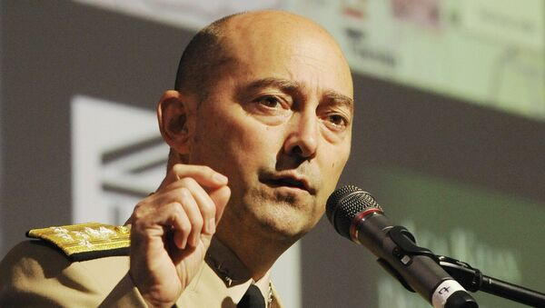 US Admiral James Stavridis, NATO Supreme Allied Commander Europe, speaks at the Global Forum conference in Wroclaw, Poland - Sputnik International