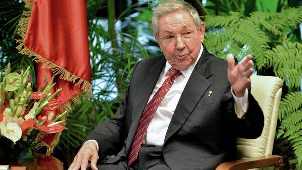 Cuba's President Raul Castro - Sputnik International
