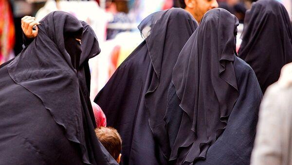 Women in the street - Sanaa - Sputnik International