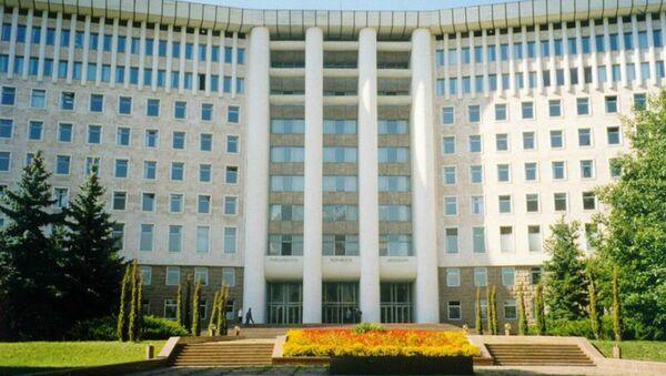 Moldovan Parliament Building - Sputnik International