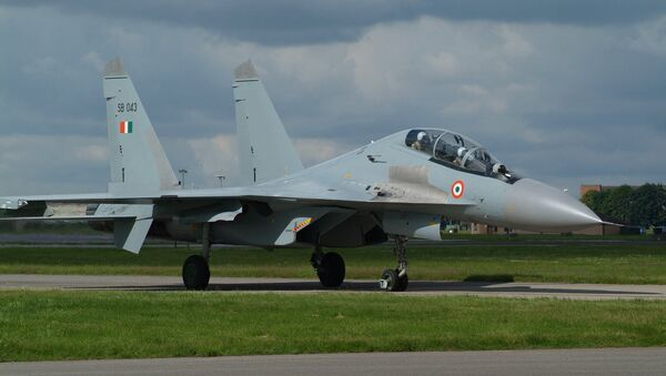 Earlier this week, Russian arms exporter Rosoboronexport said Moscow was ready to supply India with Su-30MKI long-range fighter jets. - Sputnik International