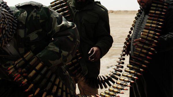 Libyan soldiers - Sputnik International