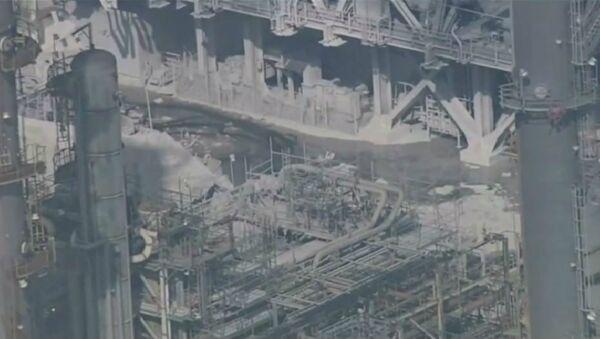The Aftermath of the Exxonmobil Refinery Explosion - Sputnik International