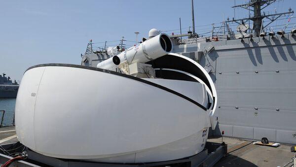 The Laser Weapon System (LaWS) - Sputnik International