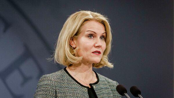 Danish Prime Minister Helle Thorning-Schmidt - Sputnik International