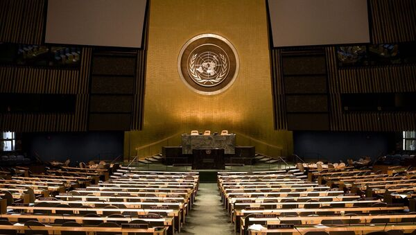 UN Headquarters - General assembly - Sputnik International