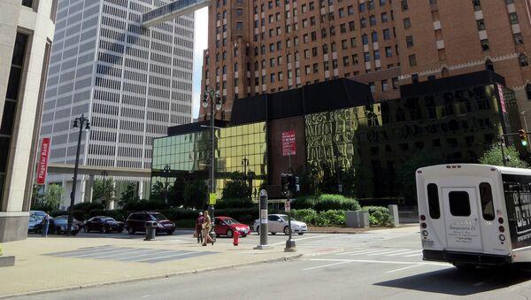 The Guardian newspaper building in Detroit - Sputnik International
