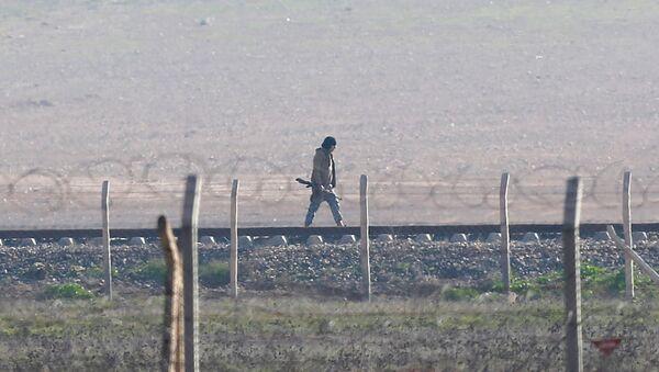 Syria-Turkey border - Sputnik International