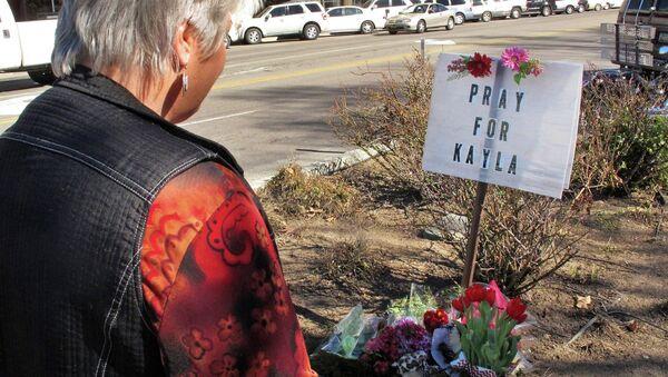 Memorial for Kayla Mueller in her hometown of Prescott, Arizona - Sputnik International
