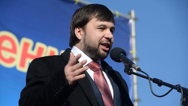 Denis Pushilin - Sputnik International
