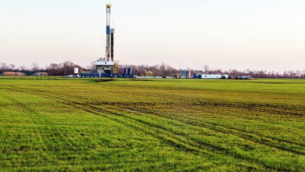 Natural Gas Well Fracking - Sputnik International