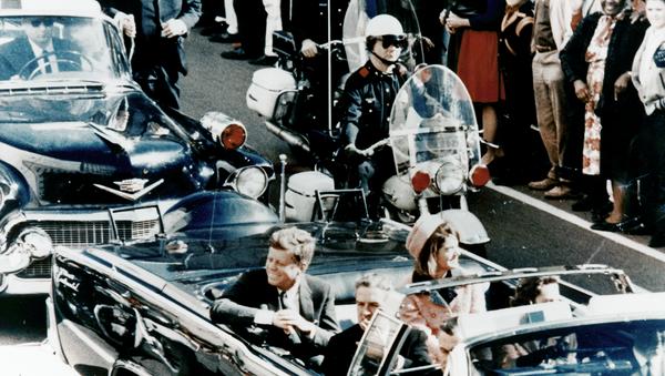 President Kennedy in Dallas, moments before the assassination. - Sputnik International