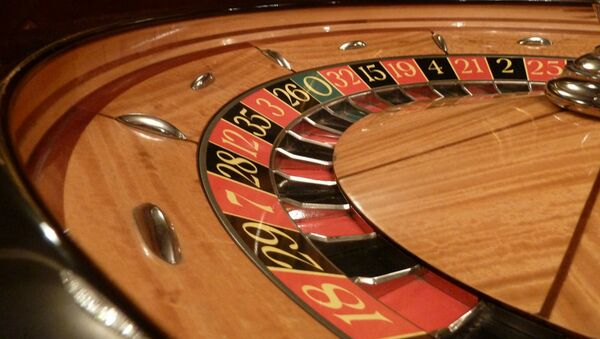 Roulette wheel in Casino - Sputnik International
