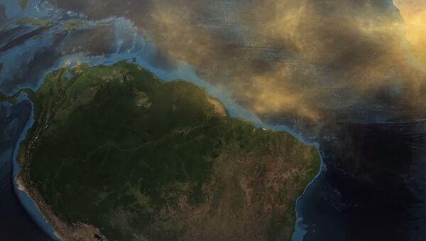 NASA Satellite Tracks Sahara Desert Dust All the Way to the Amazon (VIDEO) - Sputnik International