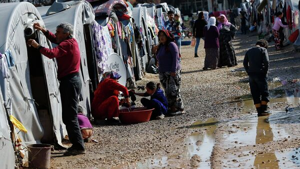 Human Rights First Director of Refugee Protection Eleanor Acer said the US aid package of more than half a billion dollars for Syrian refugees will not be enough to bring stability to the region - Sputnik International