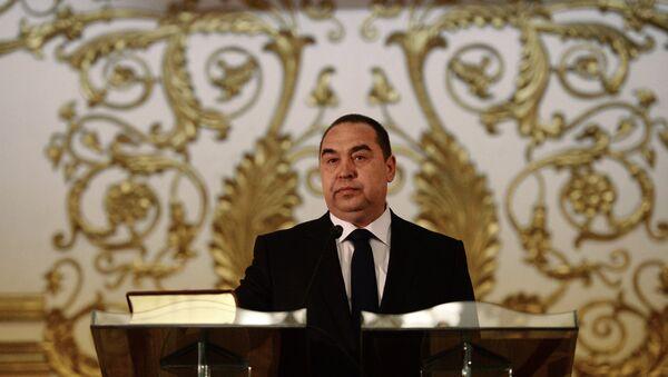 Igor Plotnitsky inaugurated official Head of Luhansk People's Republic - Sputnik International