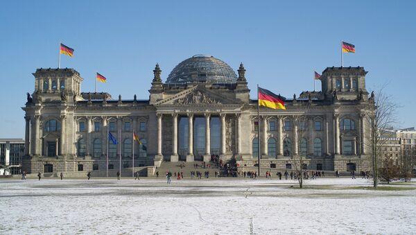 Reichstag building in Berlin - Sputnik International