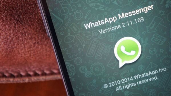 The instant messaging service, WhatsApp, continues to operate in Brazil despite a judge ordering it shut down. - Sputnik International