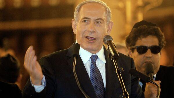 Israel Prime Minister Benjamin Netanyahu - Sputnik International