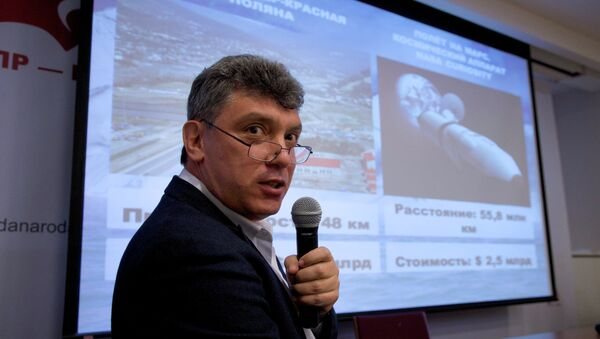 Russian opposition politician Boris Nemtsov was shot to death in central Moscow late Friday, Interfax reports. - Sputnik International