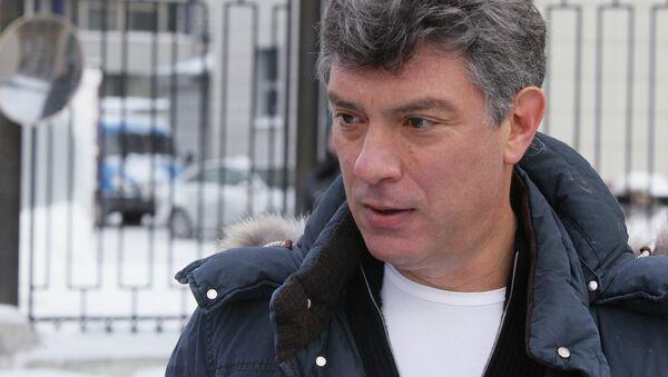 Boris Nemtsov - Sputnik International