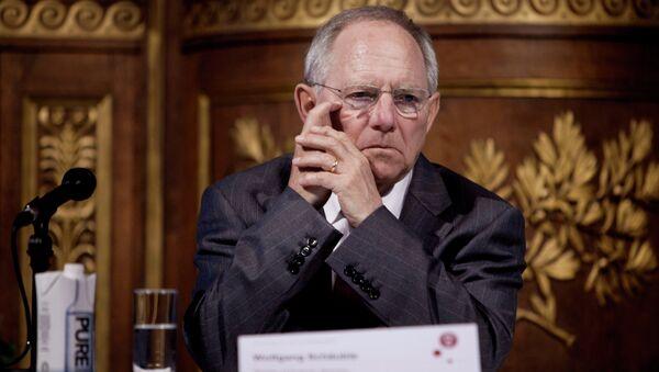 Wolfgang Schäuble - Sputnik International