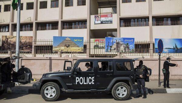 Egyptian police officers - Sputnik International