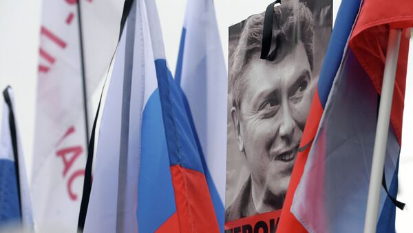 Moscow march mourns politician Boris Nemtsov - Sputnik International