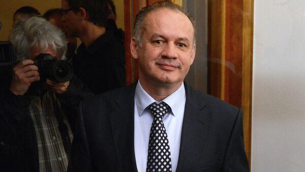 Andrej Kiska - Sputnik International