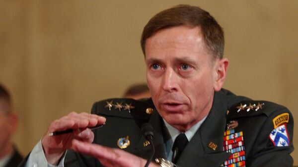 Lt. Gen. David Petraeus testifies on Capitol Hill in Washington, Tuesday, Jan. 23, 2007, before the Senate Armed Services Committee's confirmation hearing on his nomination to Multi-National Forces in Iraq. - Sputnik International