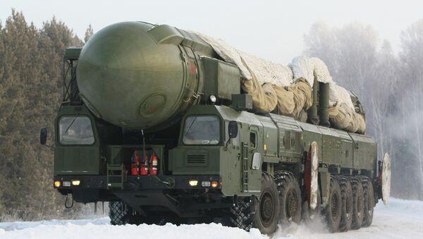 Novosibirsk missile unit - Sputnik International
