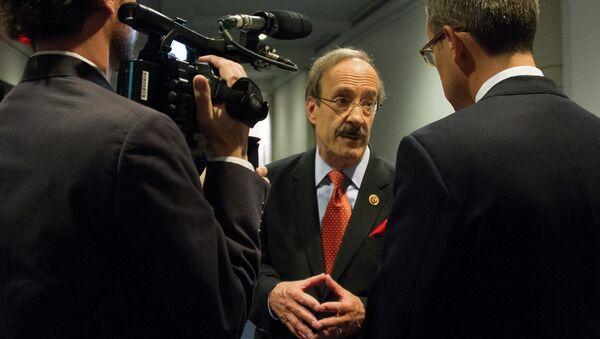US Congressman Eliot Engel, D-New York, speaksto reporters on Capitol Hill in Washington, DC, September 1, 2013 - Sputnik International
