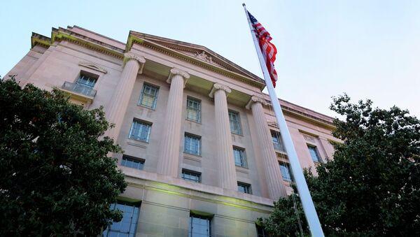 Department of Justice headquarters building in Washington - Sputnik International