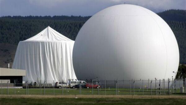 The Government Communications Security Bureau's intelligence base in New Zealand's Waihopai Valley - Sputnik International