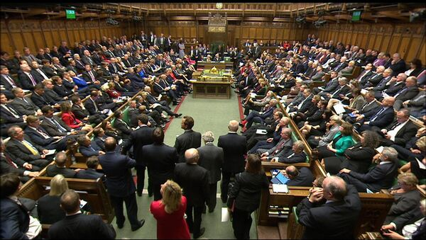 British lawmakers in the Houses of Parliament - Sputnik International