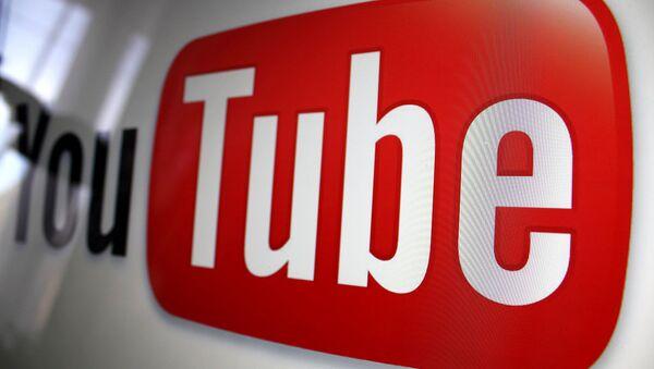 Youtube logo - Sputnik International