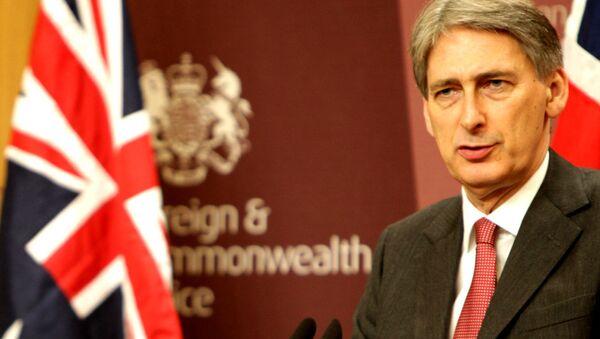 British foreign minister Philip Hammond - Sputnik International